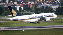 9V-SKZ - Singapore Airlines Airbus A380 aircraft