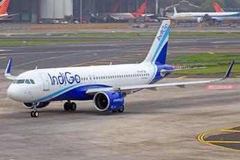 VT-IVP - IndiGo Airbus A320 NEO