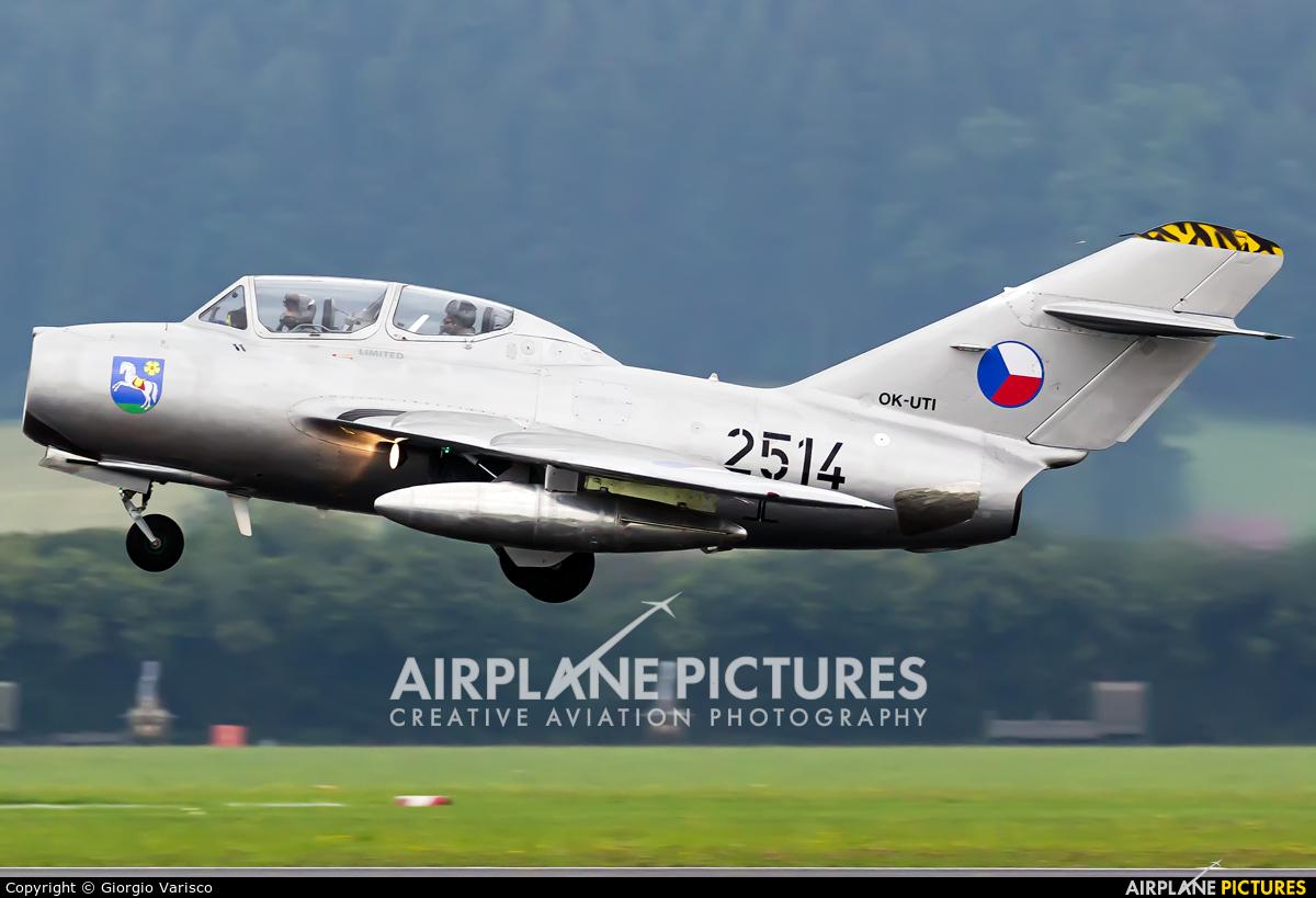 Private OK-UTI aircraft at Zeltweg