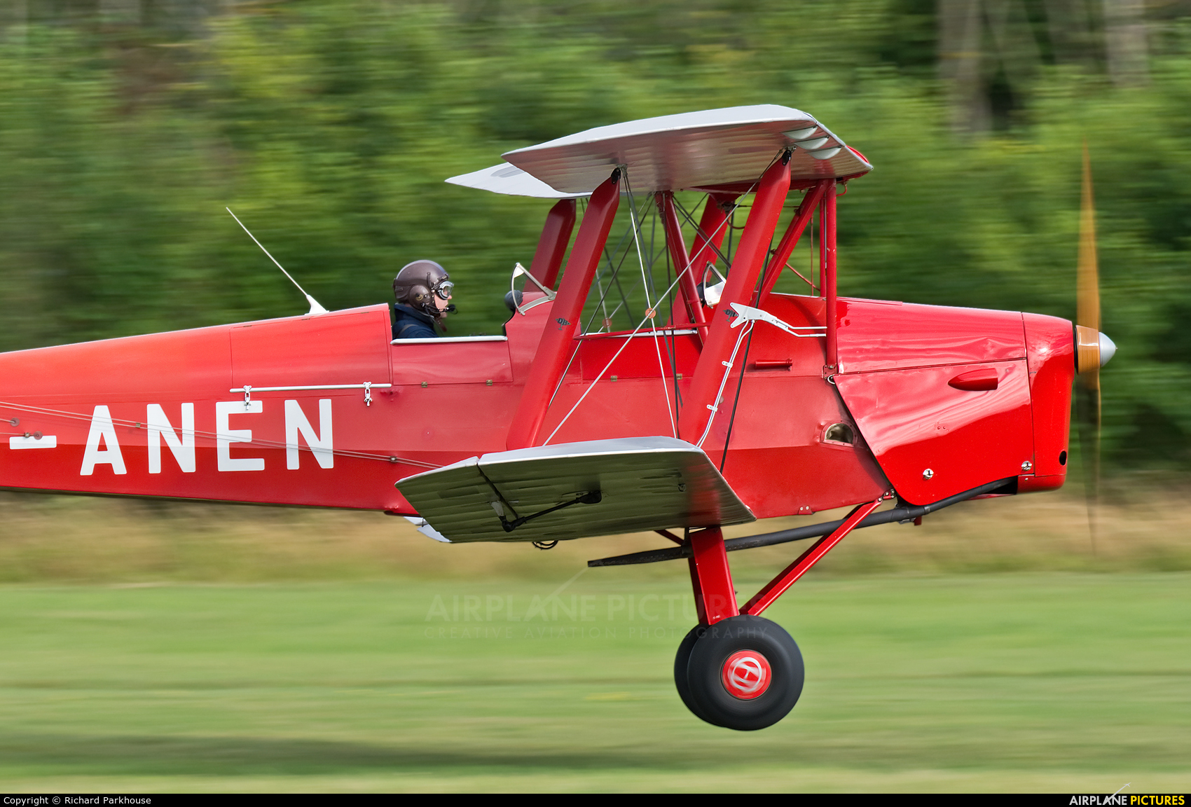 Private G-ANEN aircraft at Old Warden