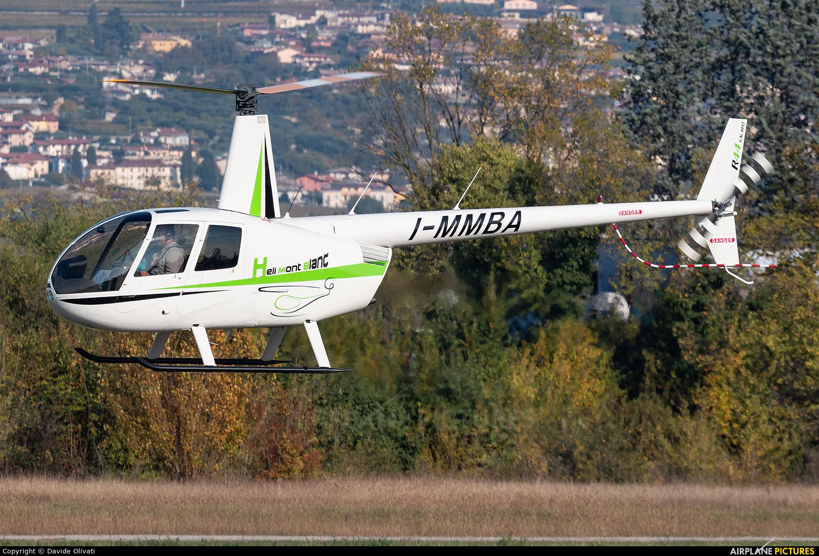 Heli Mont Blanc I-MMBA aircraft at Verona - Boscomantico