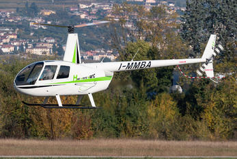I-MMBA - Heli Mont Blanc Robinson R44 Astro / Raven
