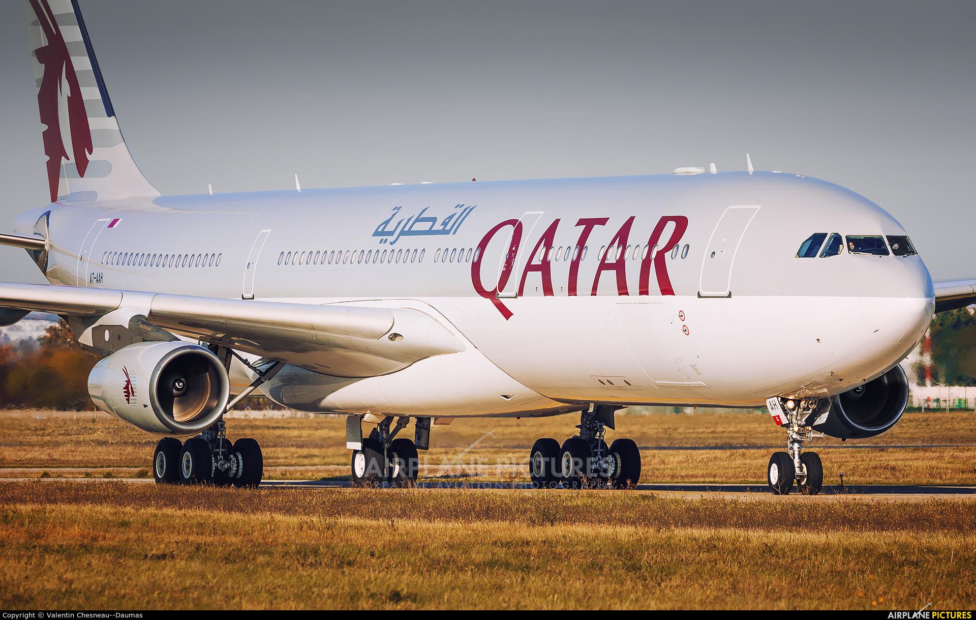 Qatar Amiri Flight A7-AAH aircraft at Paris - Orly