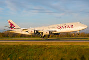 Qatar Amiri Flight Boeing 747-8 BBJ visited Basel title=