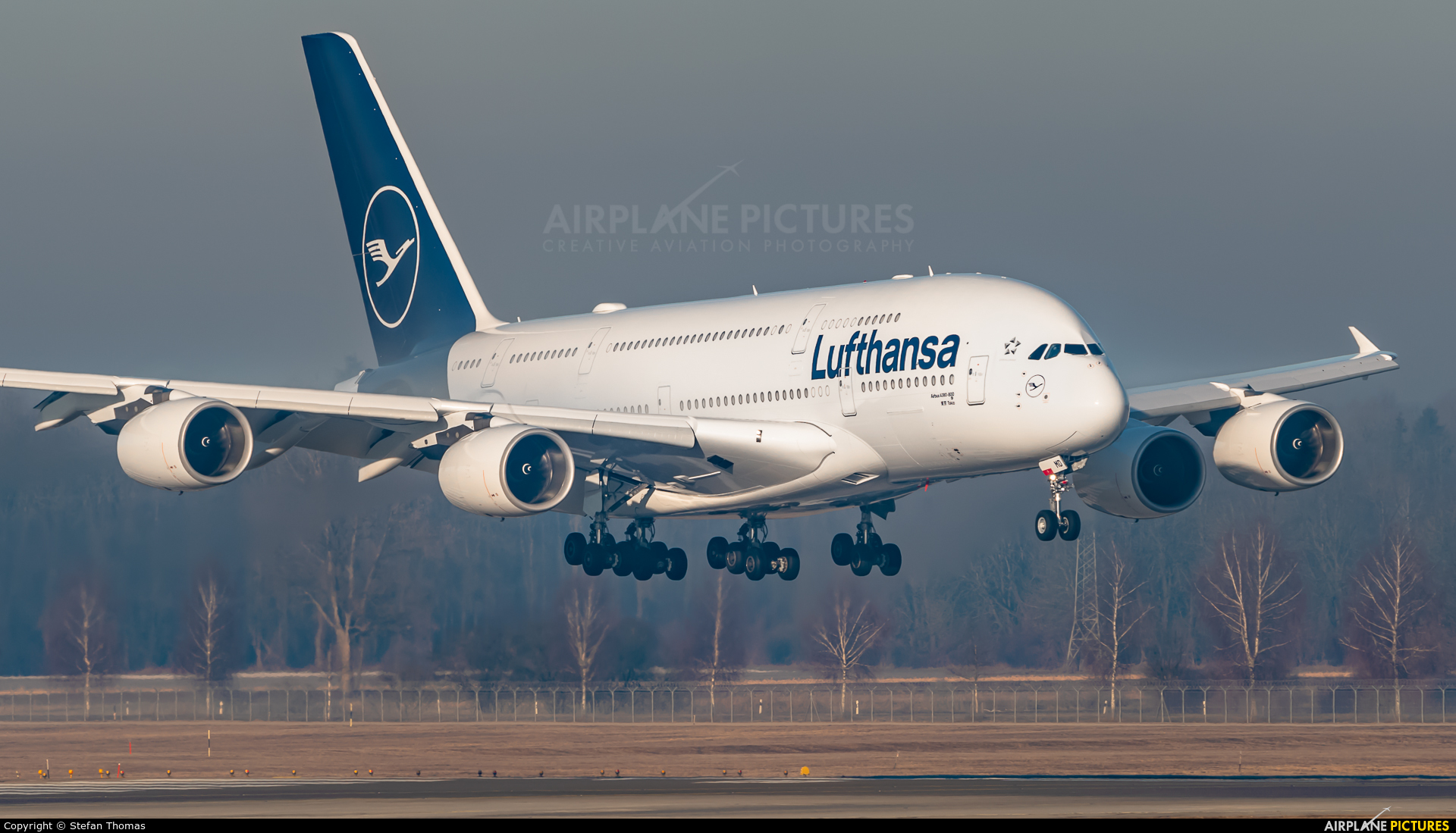 Lufthansa D-AIMD aircraft at Munich
