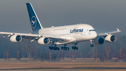 D-AIMD - Lufthansa Airbus A380