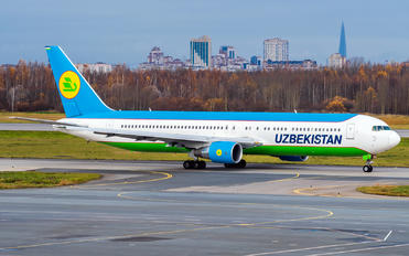 UK67003 - Uzbekistan Airways Boeing 767-300ER