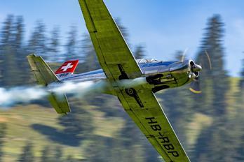 HB-RBP - P3 Flyers Ticino Pilatus P-3
