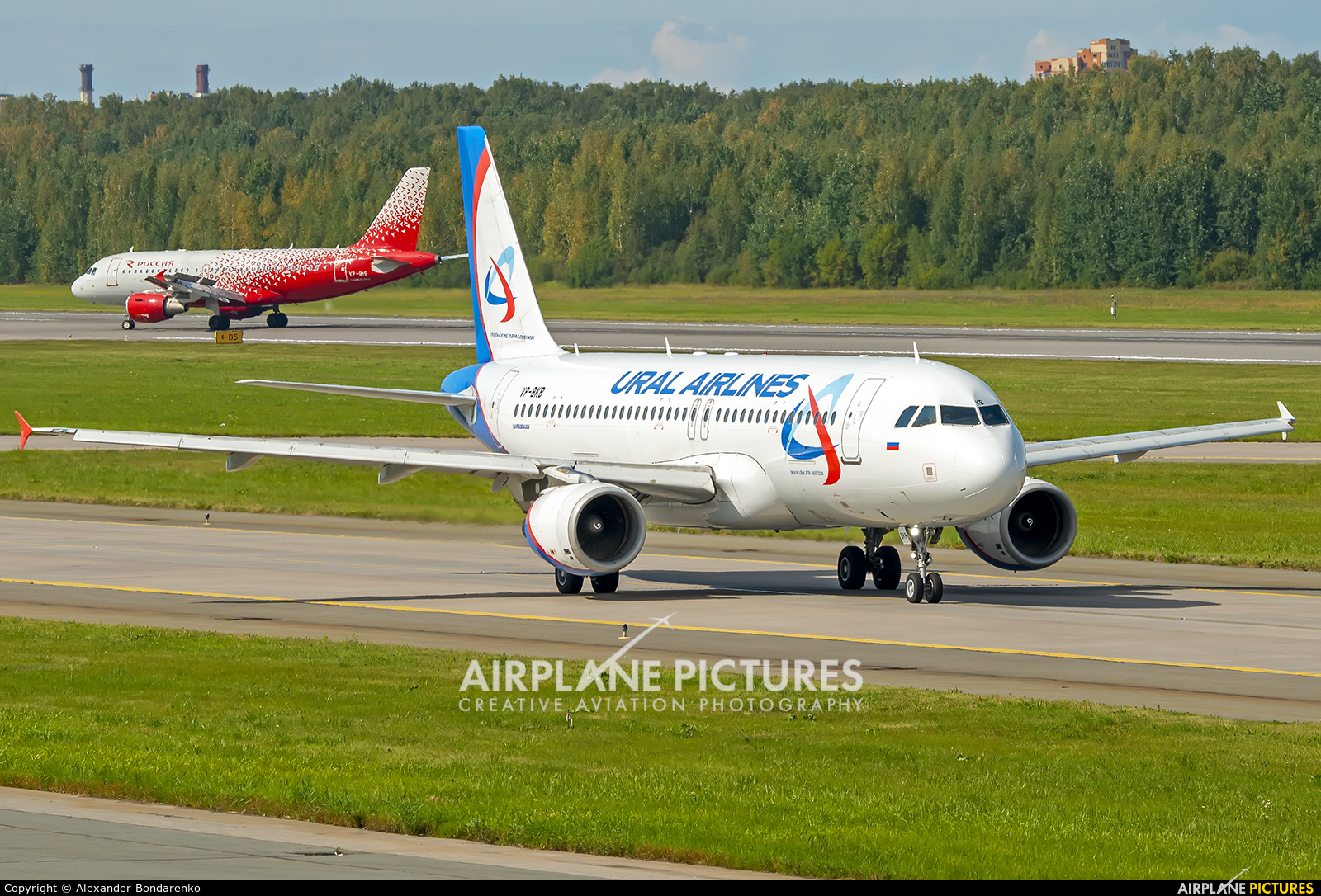 Ural Airlines VP-BKB aircraft at St. Petersburg - Pulkovo