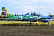 """FAB5712 - Brazil - Air Force """"Esquadrilha da Fumaça"""" Embraer EMB-314 Super Tucano A-29A aircraft"""