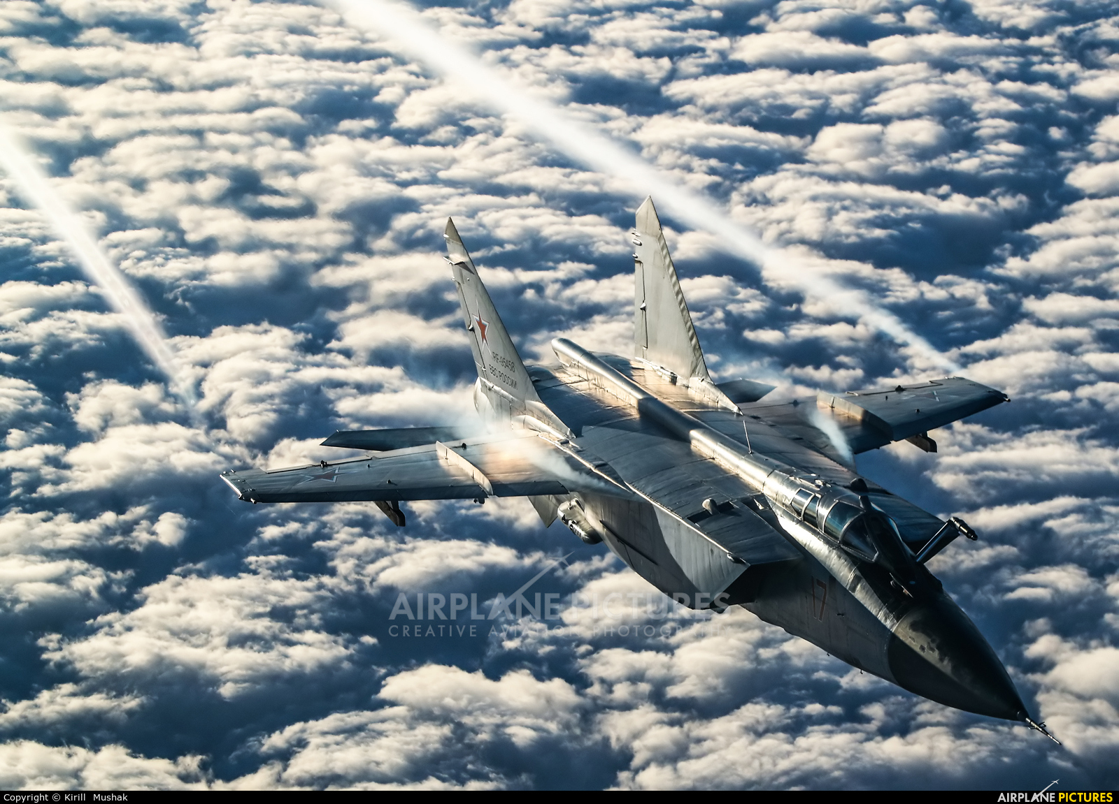 Russia - Air Force RF-95458 aircraft at In Flight - Russia