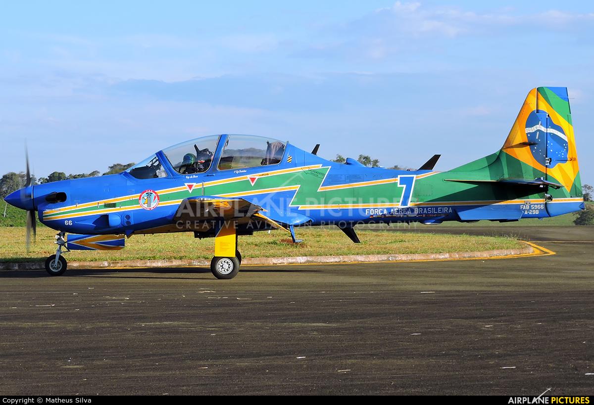 "Brazil - Air Force ""Esquadrilha da Fumaça"" FAB5966 aircraft at Guaxupé"