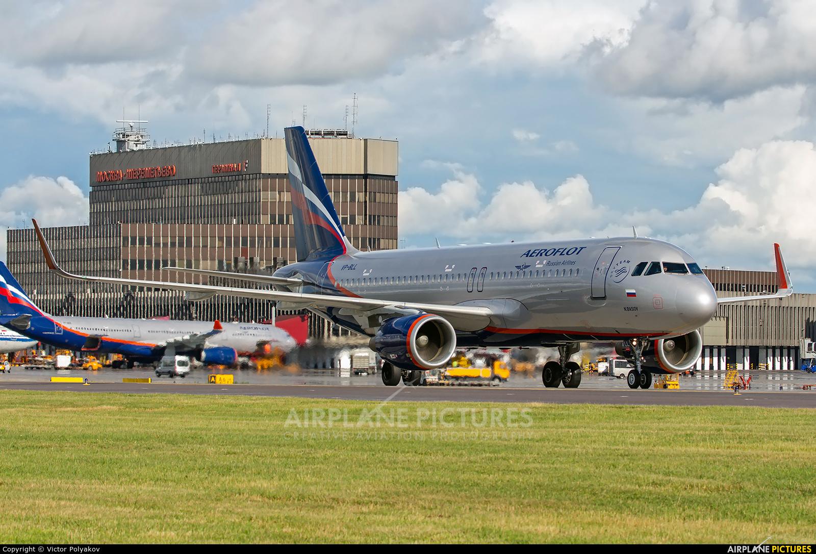 Aeroflot VP-BLL aircraft at Moscow - Sheremetyevo