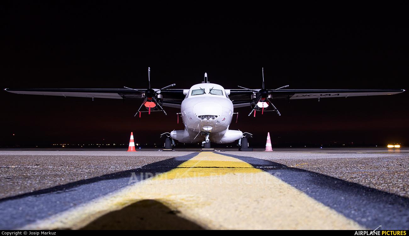 Van Air Europe OK-VAA aircraft at Zagreb