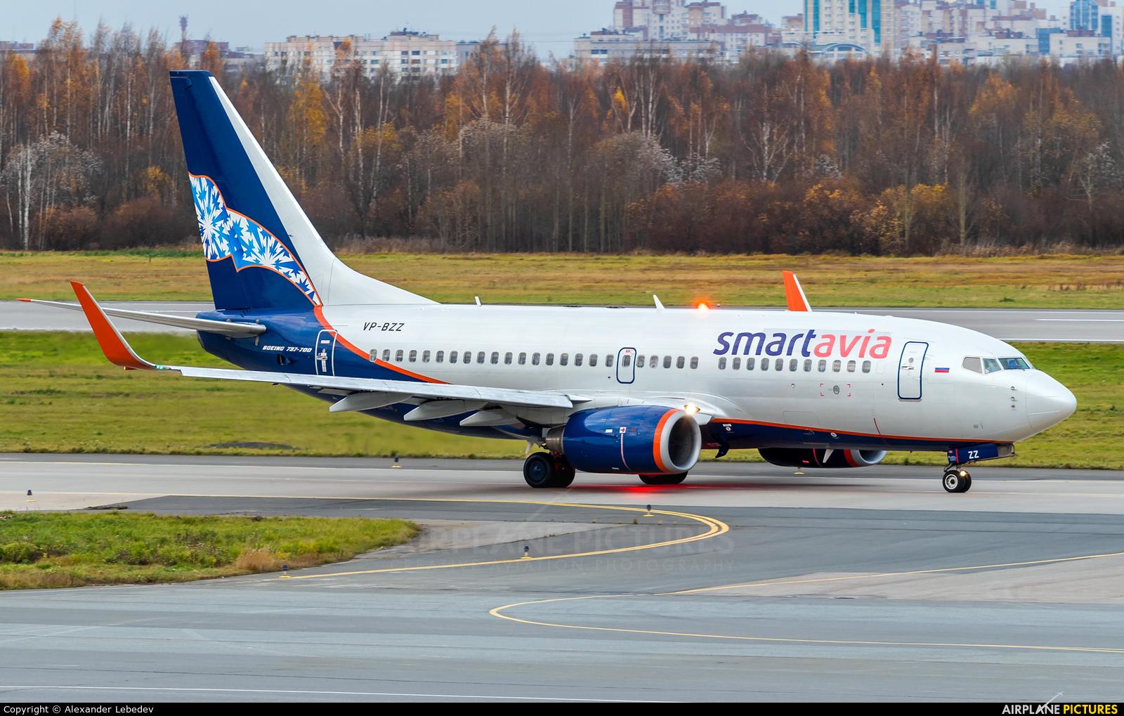Smartavia VP-BZZ aircraft at St. Petersburg - Pulkovo