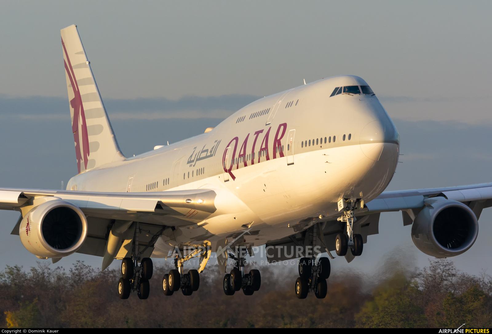 Qatar Amiri Flight A7-HHE aircraft at Basel - Mulhouse- Euro