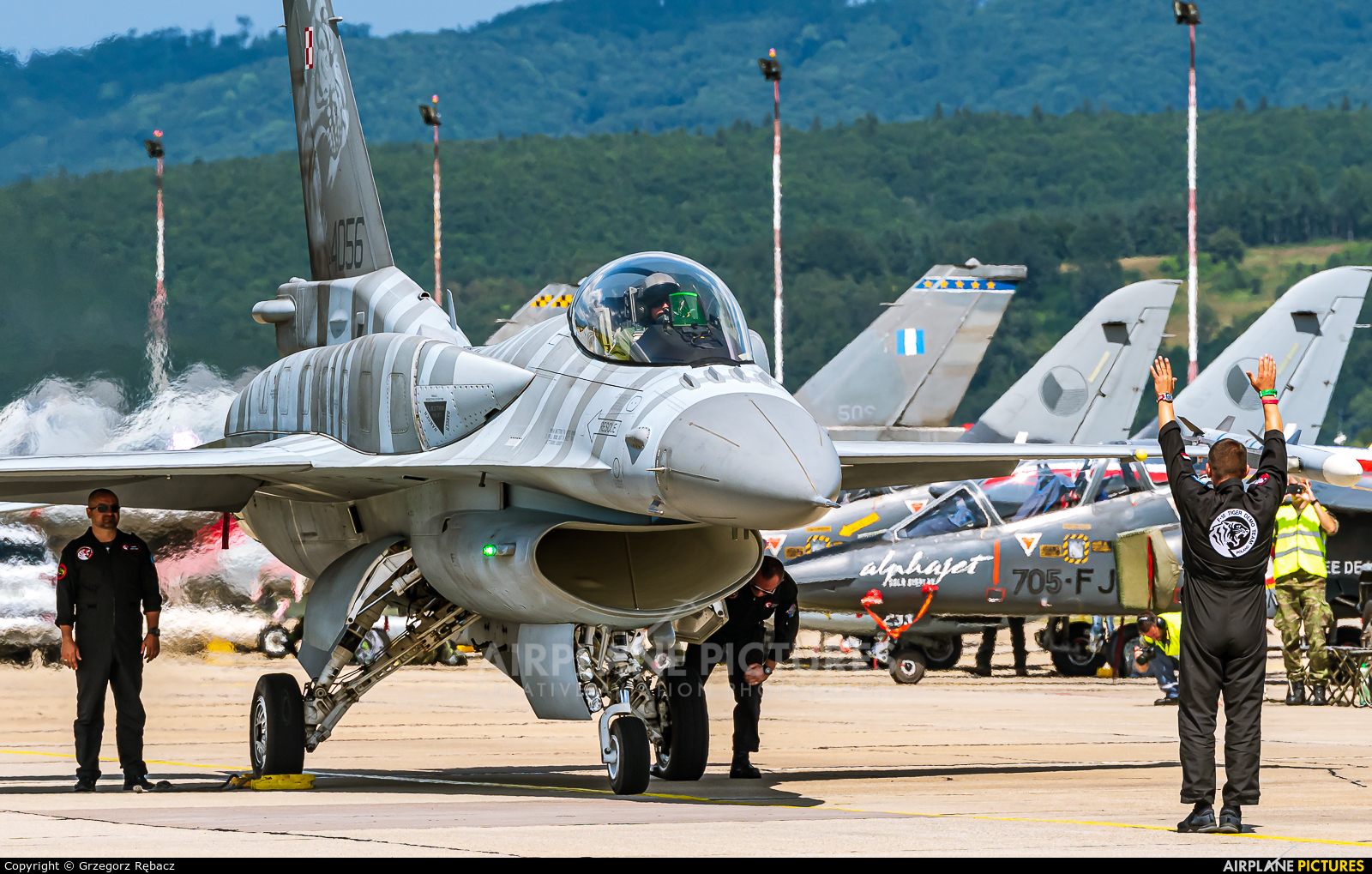 Poland - Air Force 4056 aircraft at Sliač