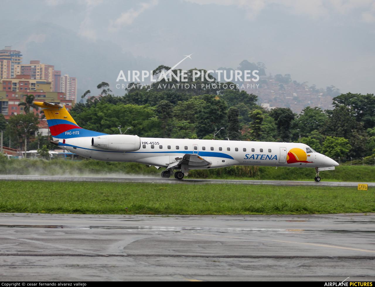 Satena HK-4535 aircraft at Medellin - Olaya Herrera
