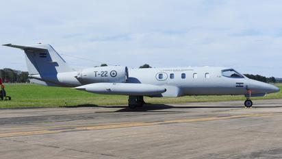 T-22 - Argentina - Air Force Learjet 35