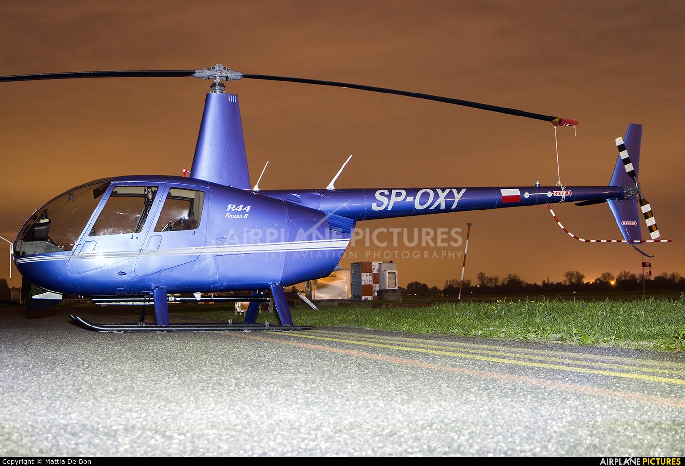Private SP-OXY aircraft at Reggio Emilia