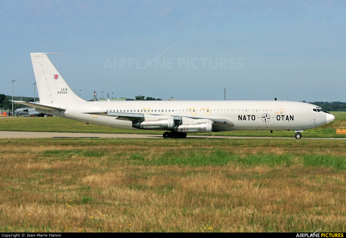 NATO LX-N20000 aircraft at Geilenkirchen