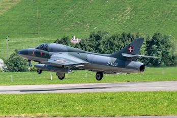 HB-RVR - Amici dell'Hunter Hawker Hunter T.68