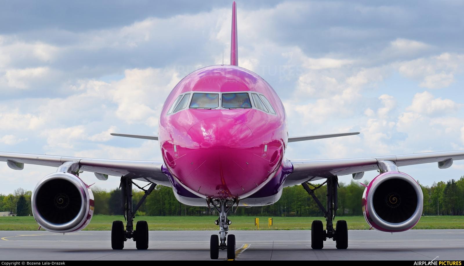 Wizz Air HA-LYI aircraft at Wrocław - Copernicus
