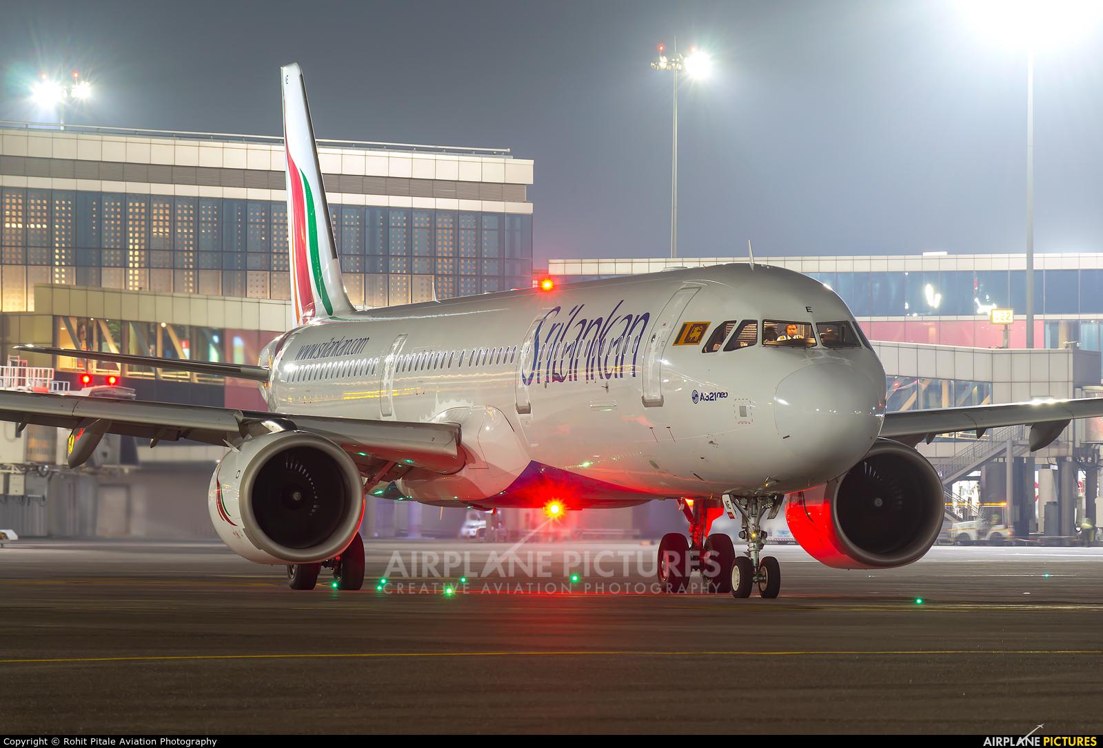 SriLankan Airlines 4R-ANE aircraft at Mumbai - Chhatrapati Shivaji Intl