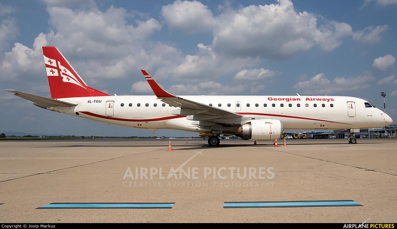 Airzena - Georgian Airlines 4L-TGU aircraft at Zagreb