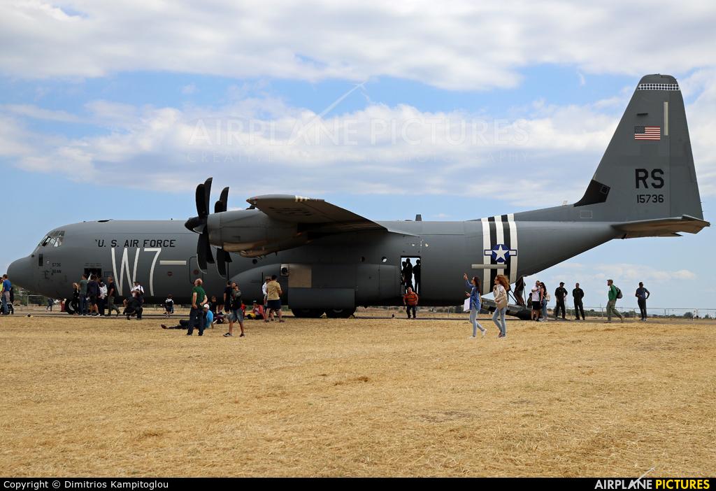 USA - Air Force 11-5736 aircraft at Tanagra