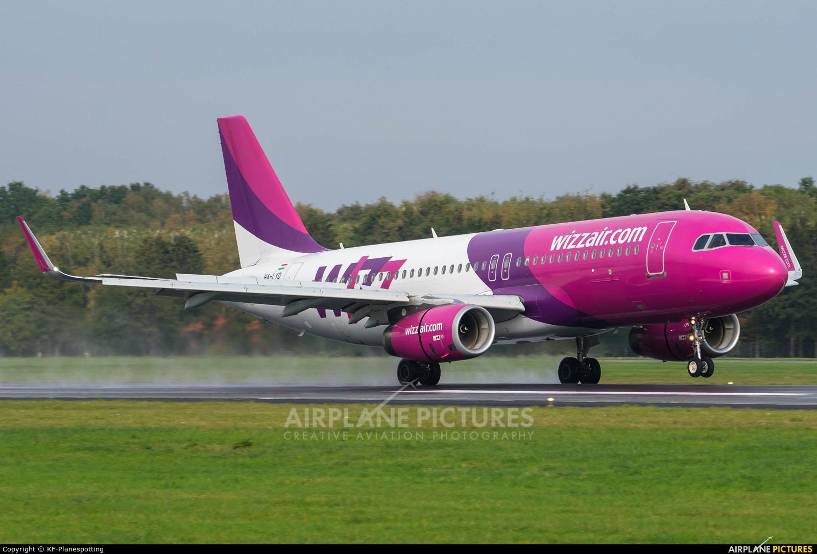 Wizz Air HA-LYD aircraft at Hamburg - Fuhlsbüttel