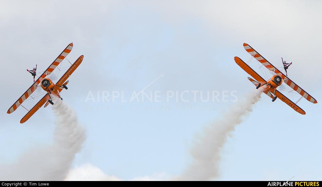 AeroSuperBatics G-IIYI aircraft at Biggin Hill