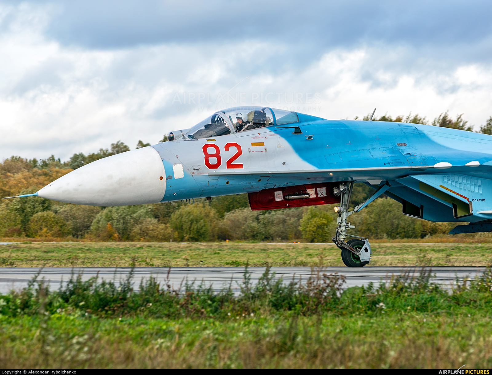 Russia - Navy RF-91907 aircraft at Undisclosed Location