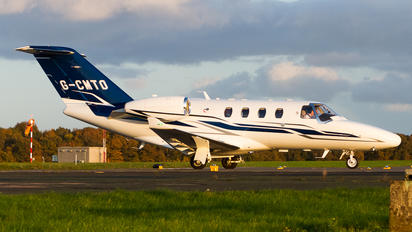 G-CMTO - Private Cessna 525 CitationJet