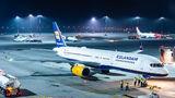 Icelandair Boeing 757 visited Kraków