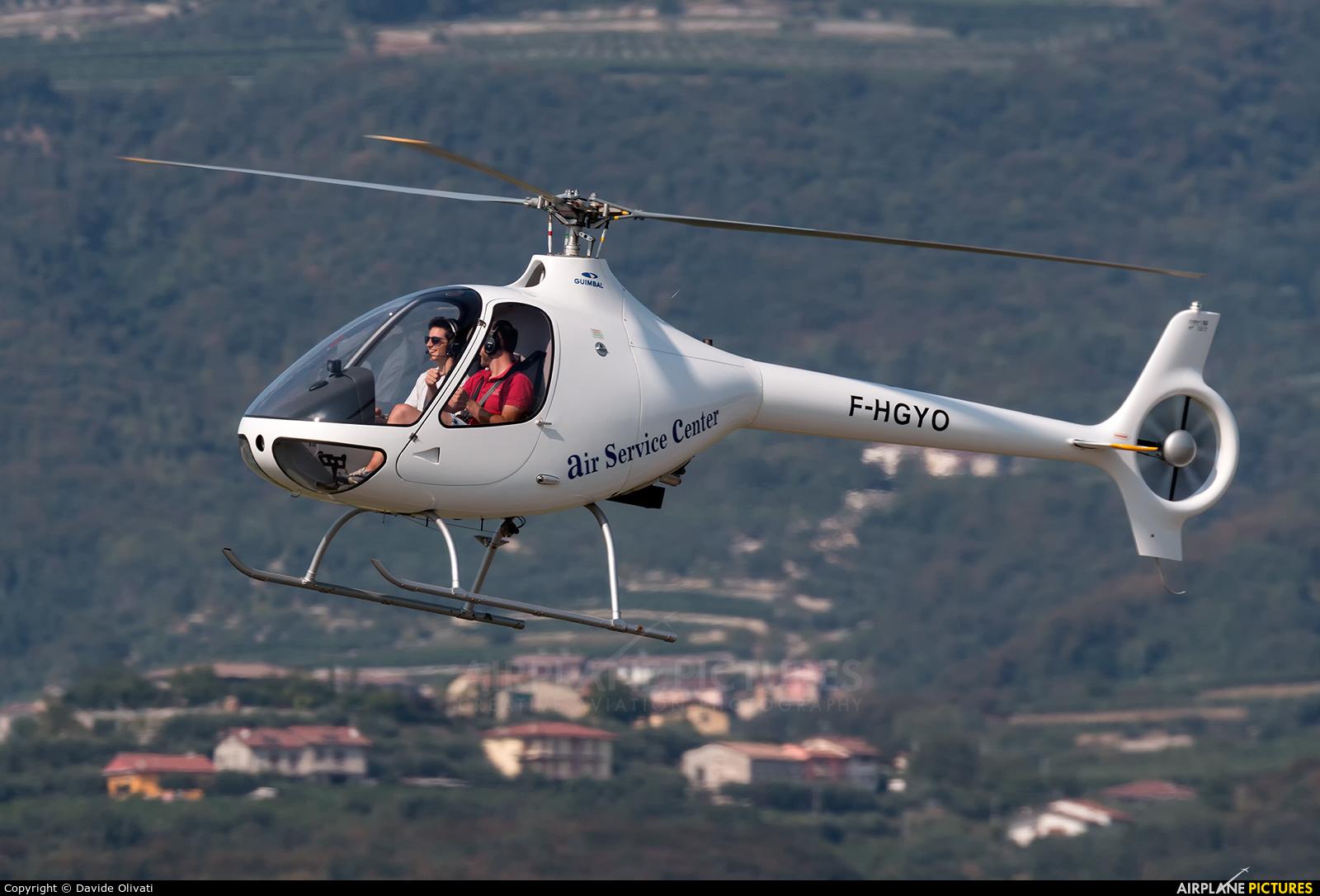 Private F-HGYO aircraft at Verona - Boscomantico
