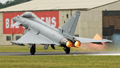 ZJ937 - Royal Air Force Eurofighter Typhoon F.2