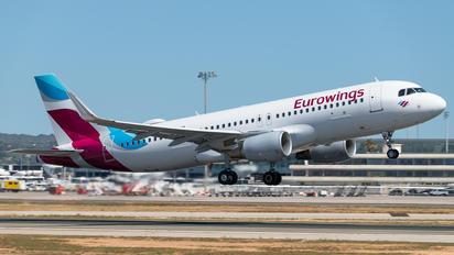 D-AEWO - Eurowings Airbus A320