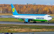 UK67004 - Uzbekistan Airways Boeing 767-300ER aircraft