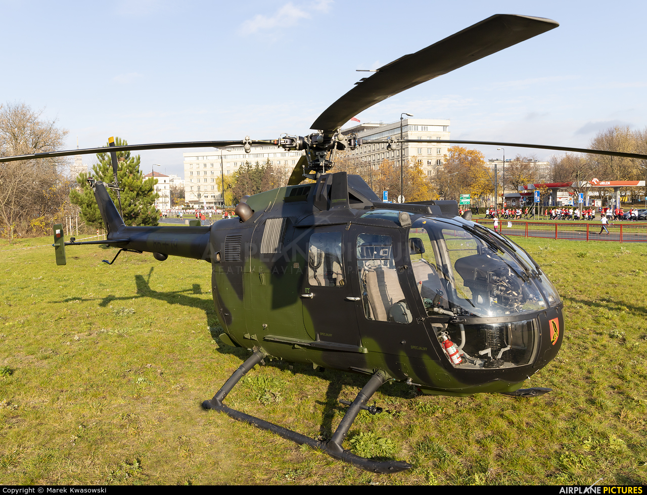 Private SP-YBO aircraft at Warsaw - Off Airport