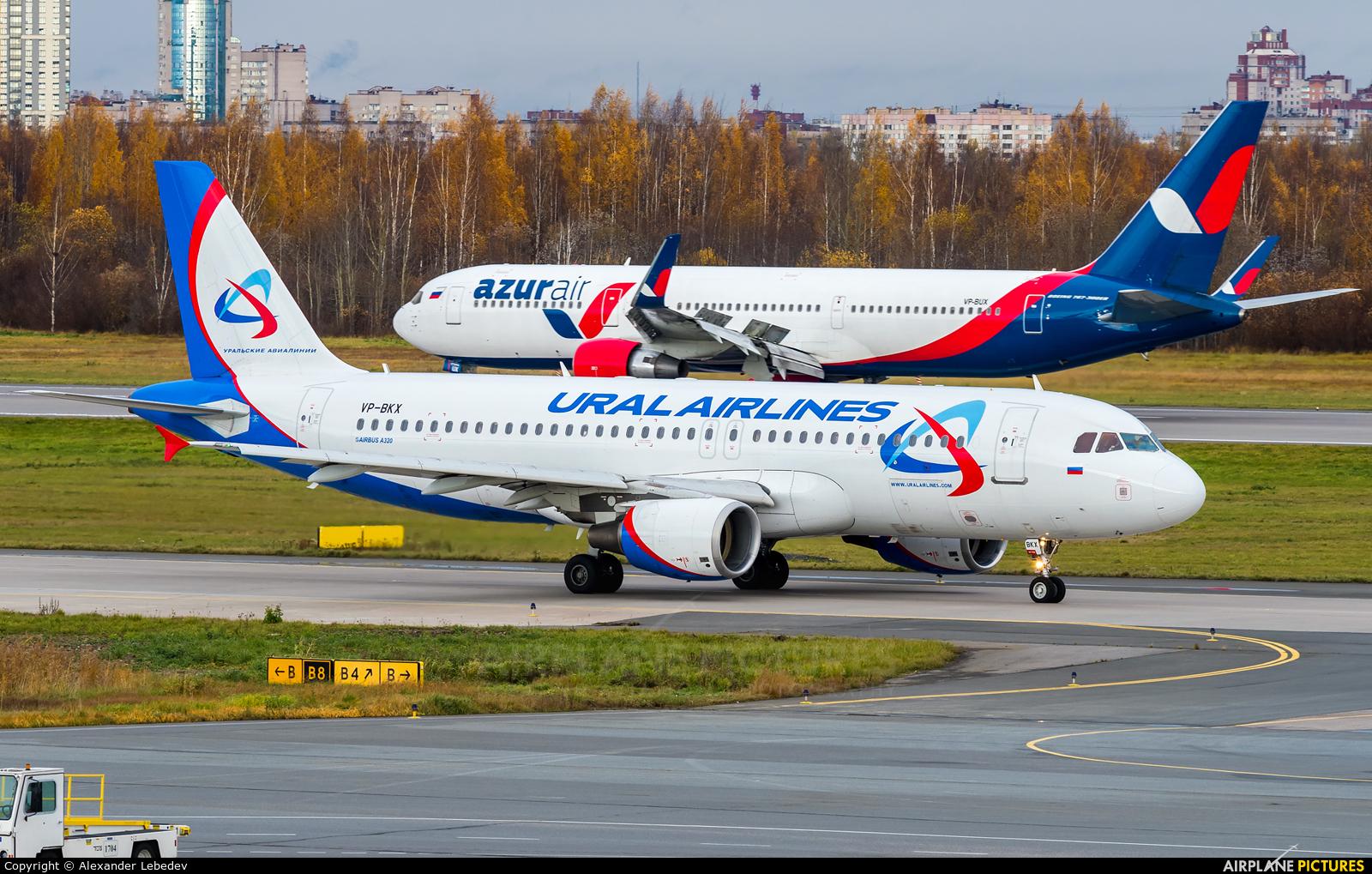 Ural Airlines VP-BKX aircraft at St. Petersburg - Pulkovo