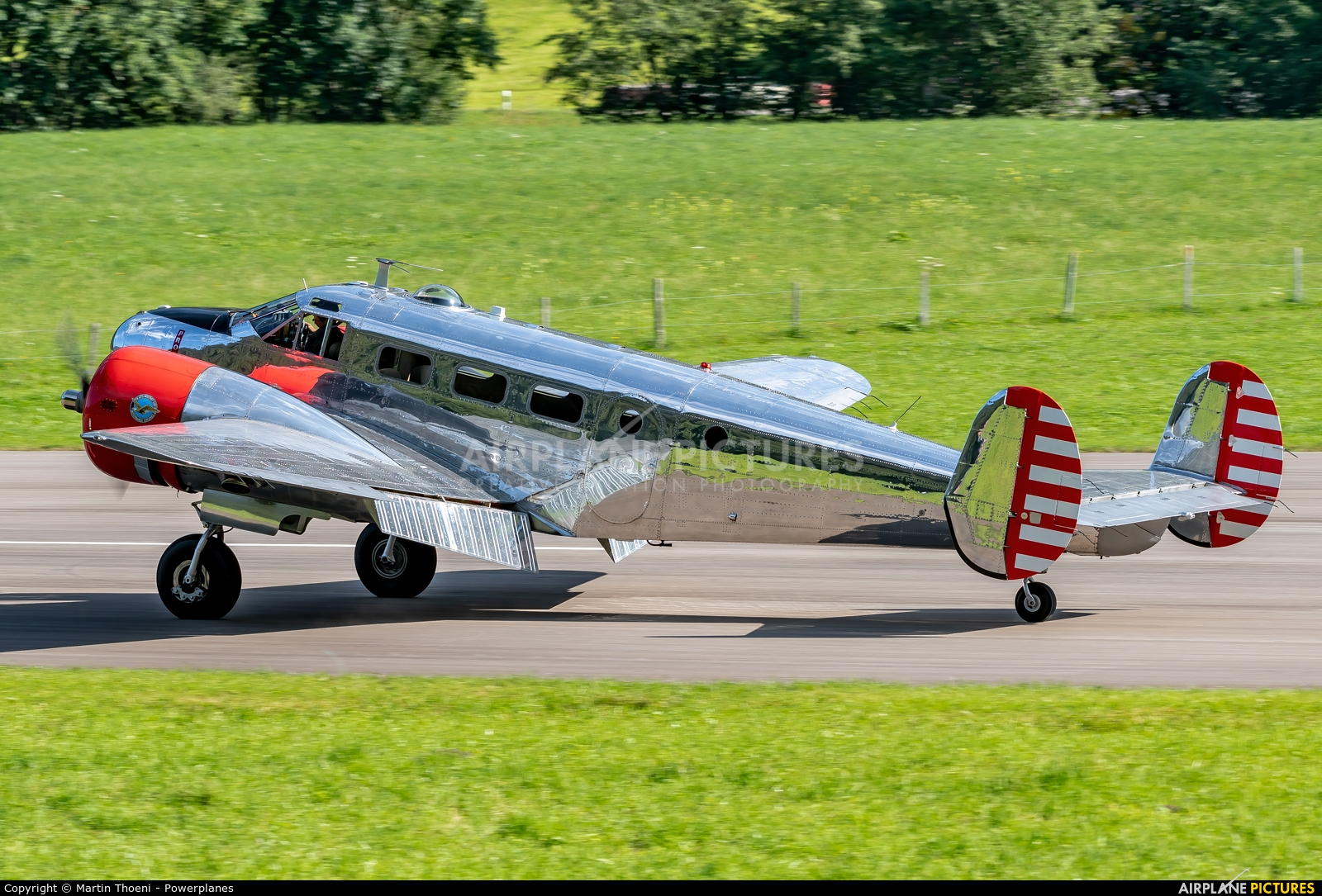 Mathys Aviation N21FS aircraft at St. Stephan
