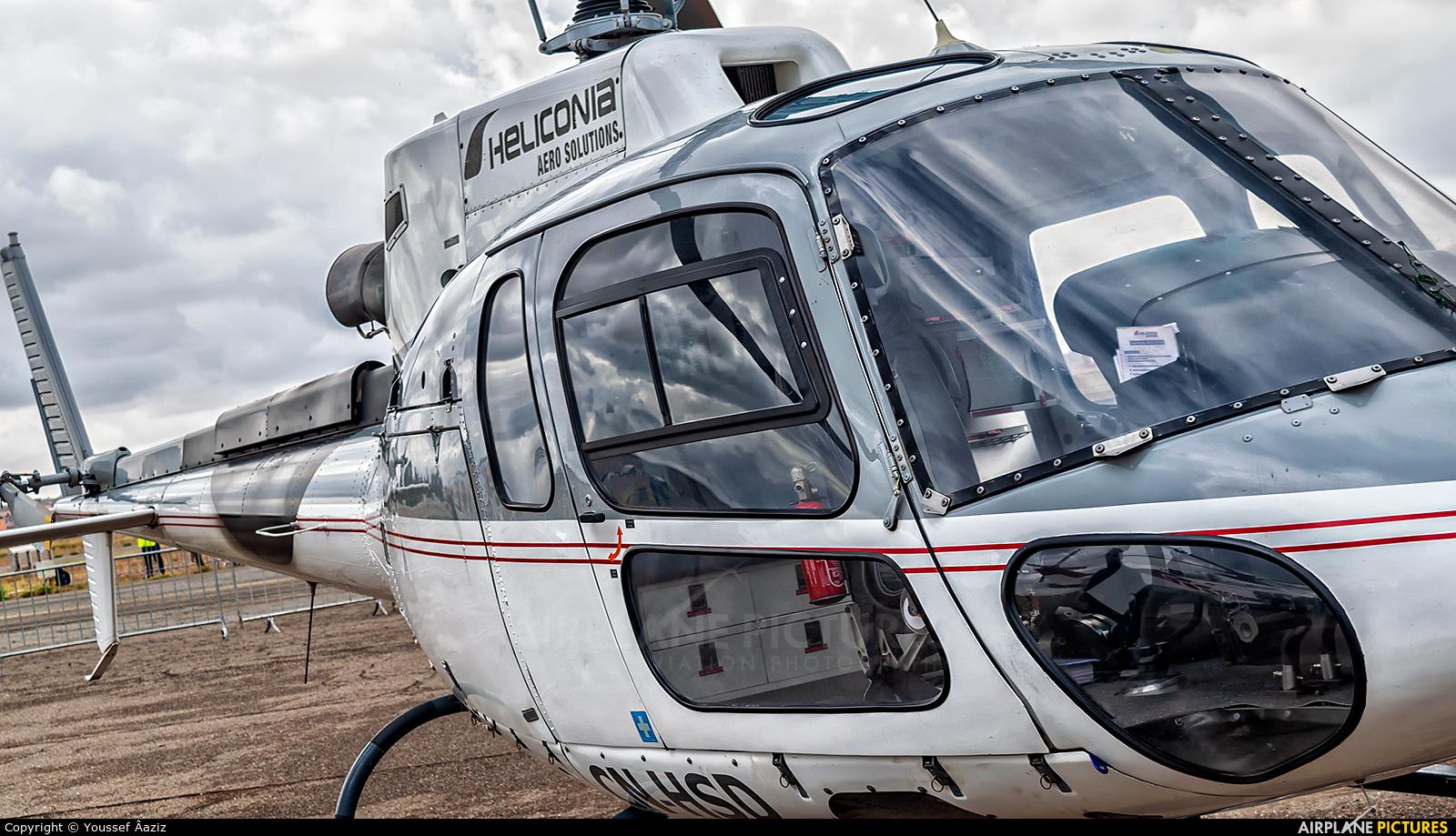 Heliconia Aero Solutions CN-HSD aircraft at Marrakech - Menara