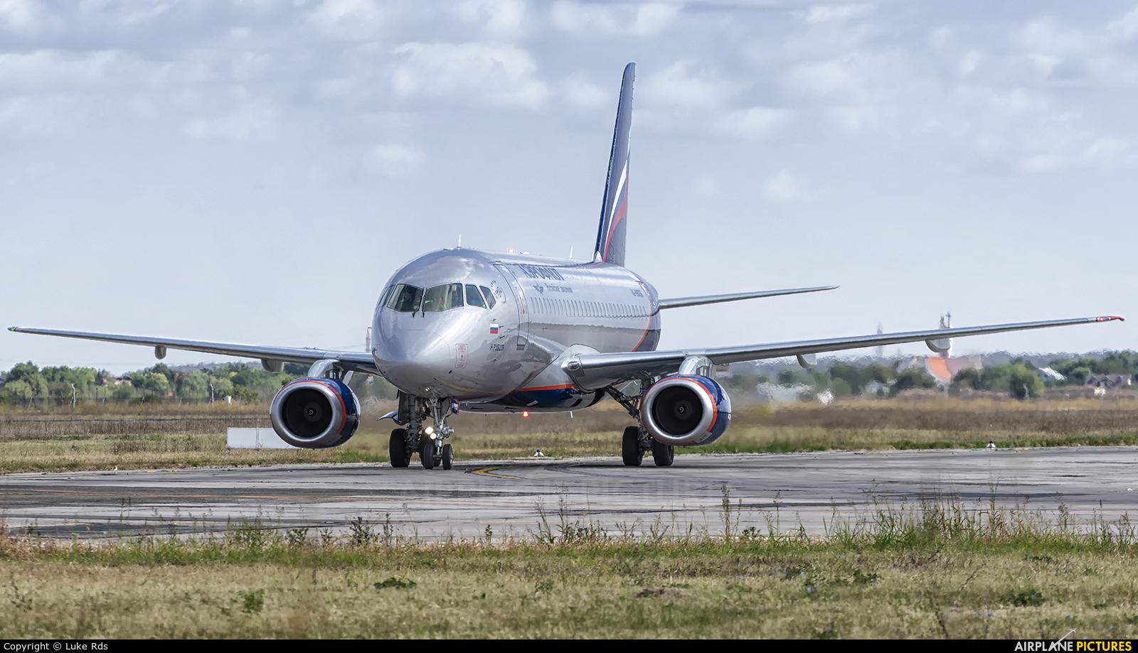 Aeroflot RA-89056 aircraft at Bucharest - Henri Coandă