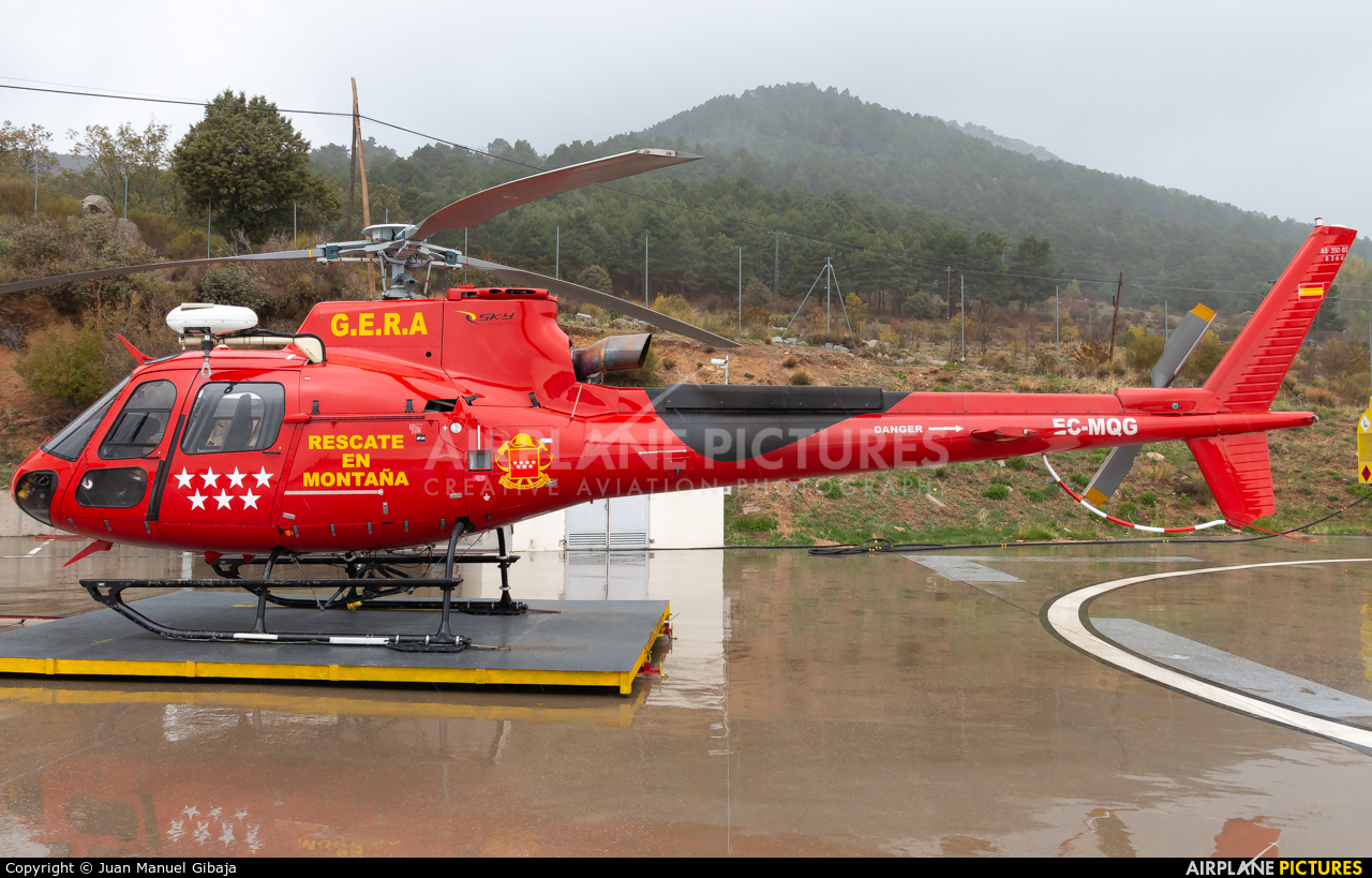 Sky Helicopteros EC-MQG aircraft at Off Airport - Spain