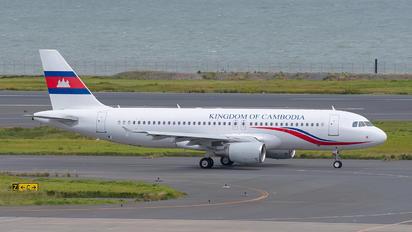 B-6738 - Royal Cambodian Air Force Airbus A320