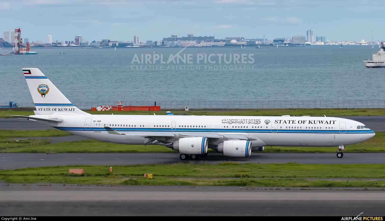 Kuwait - Government 9K-GBB aircraft at Tokyo - Haneda Intl