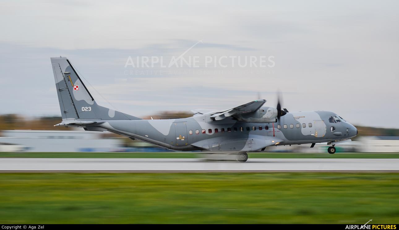 Poland - Air Force 023 aircraft at Łask AB