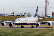 Douglas DC-8 visited Birmingham title=