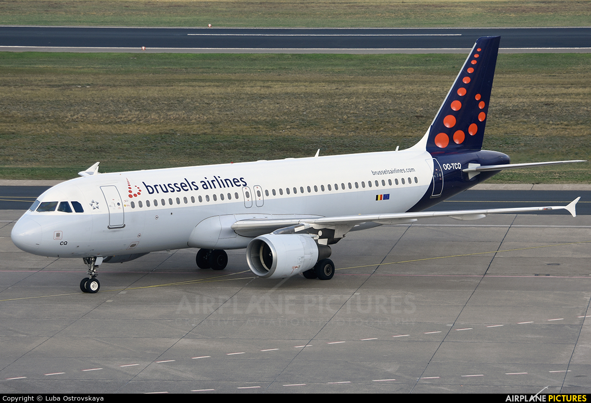 Brussels Airlines OO-TCQ aircraft at Berlin - Tegel
